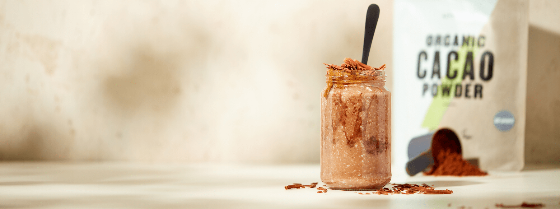 Chocolate & Peanut Overnight Oats