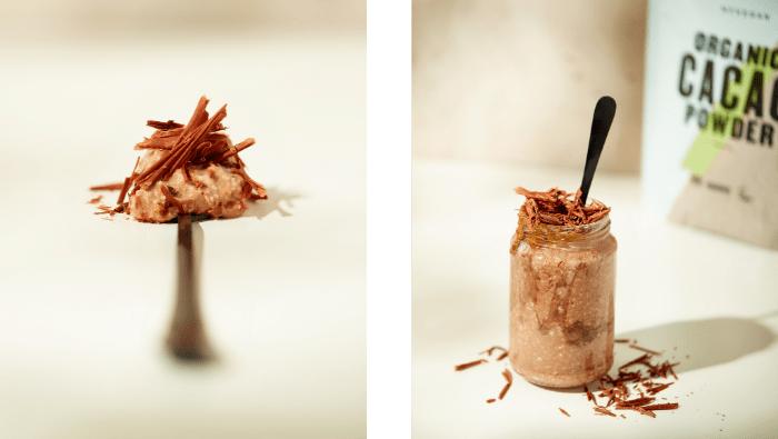 Chocolate & Peanut Overnight Oats