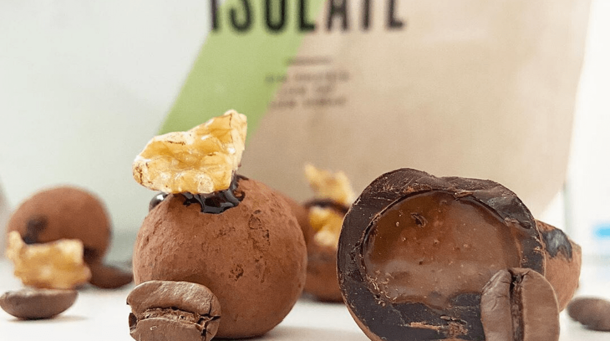 Espresso Caramel Protein Truffles