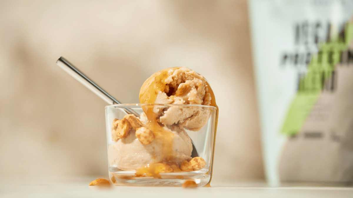 High-Protein Banoffee & Peanut Nice-Cream