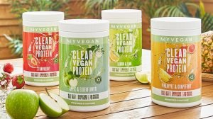 4 Flavours Clear Vegan Protein