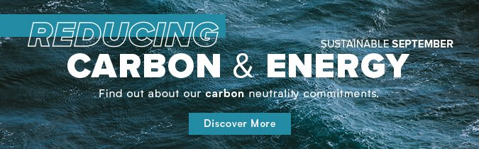 Reducing Carbon & Energy banner