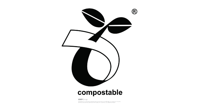 Compostable Recycling logo