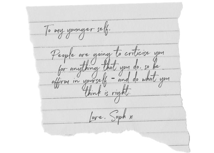 Sophie Butler letter