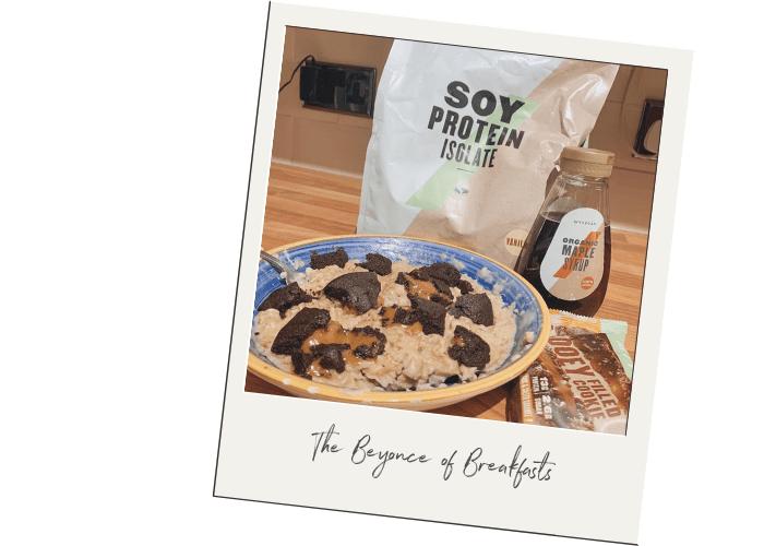Soy Protein Porridge Oats