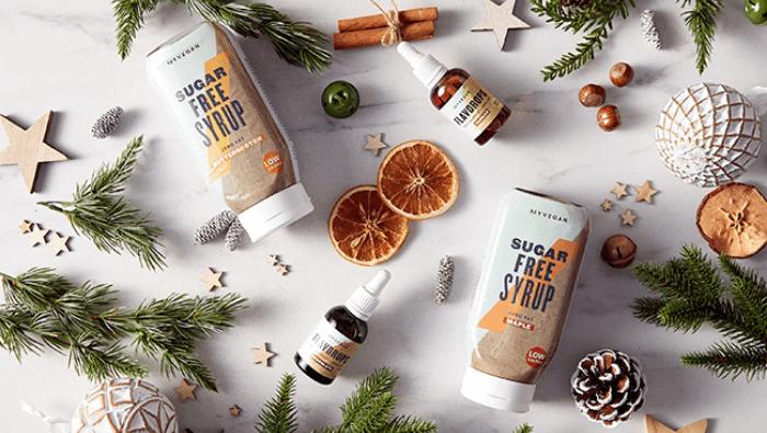 Sugar-Free Syrup and FlavDrops