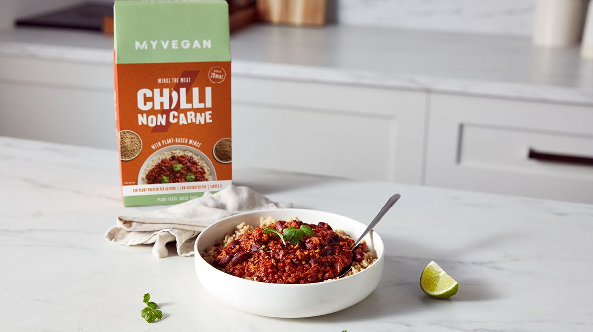 Chilli Non Carne Recipe | Vegan Dinner Ideas