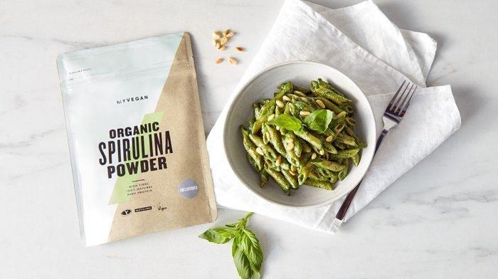 Spirulina Pesto Pasta | Vegan Dinner Recipes