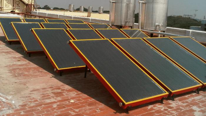 Solar Water Heating, India