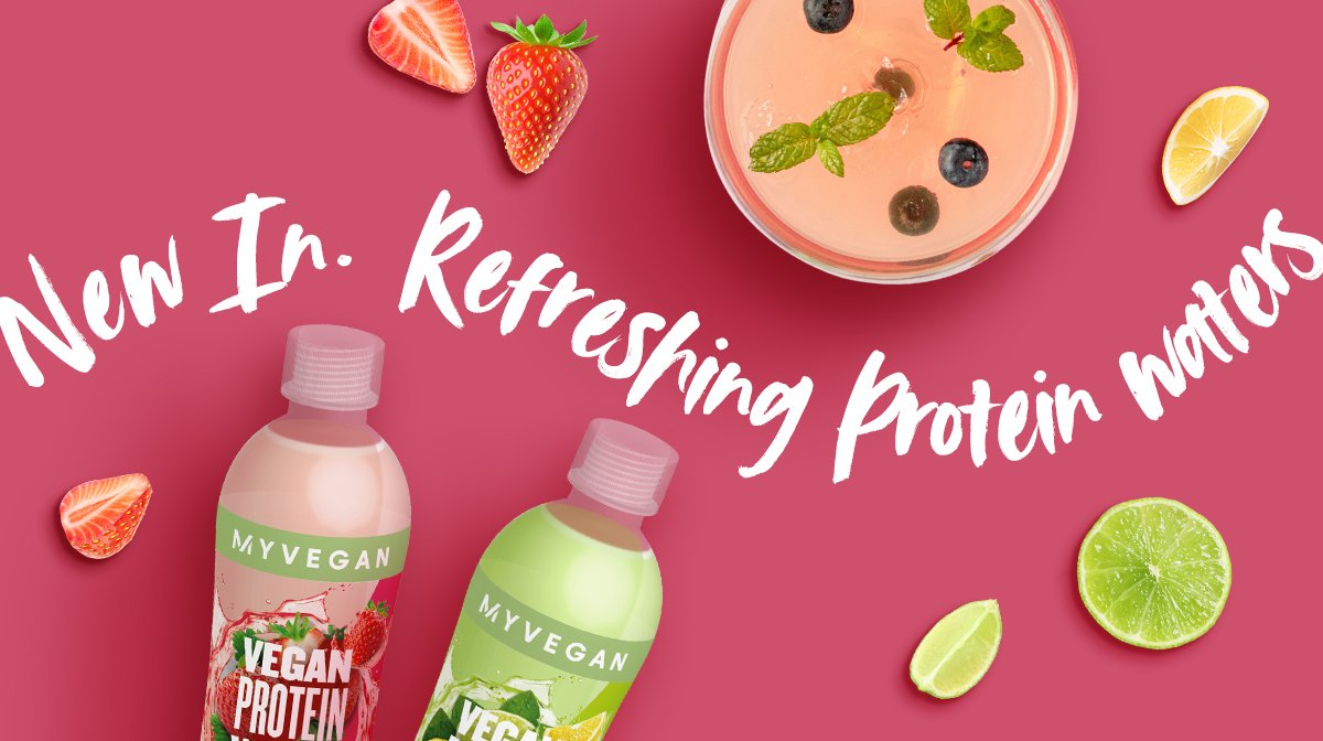 What is our Refreshing Vegan Protein Water | COMING SOON