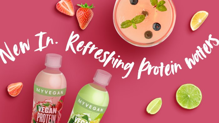 vegan protein water