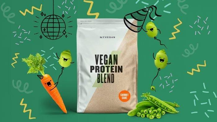 It's Back: Carrot Cake Vegan Protein Blend