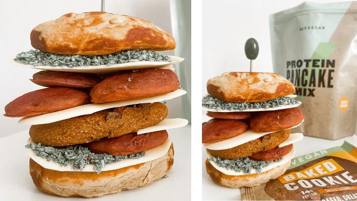 Vegan Pancake Burger