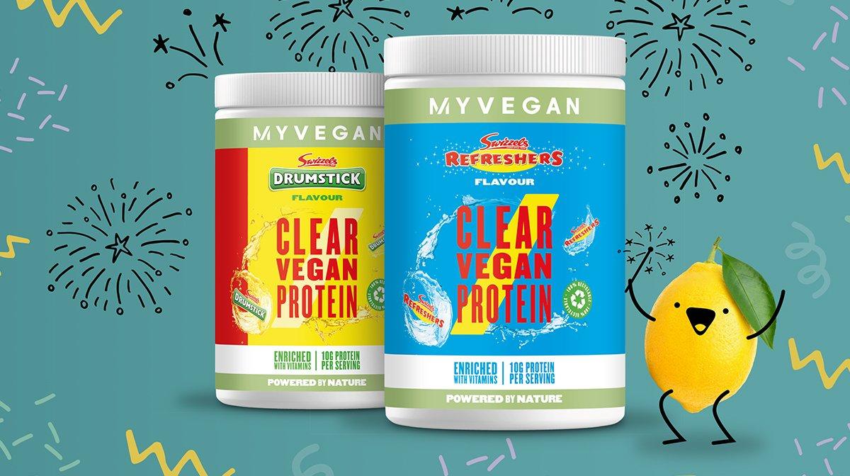 New In: Swizzels Clear Vegan Protein