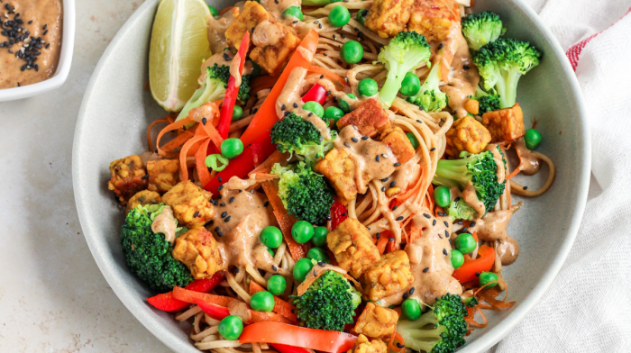 Tempeh Stir-Fry Recipe | Myvegan x Plant Power