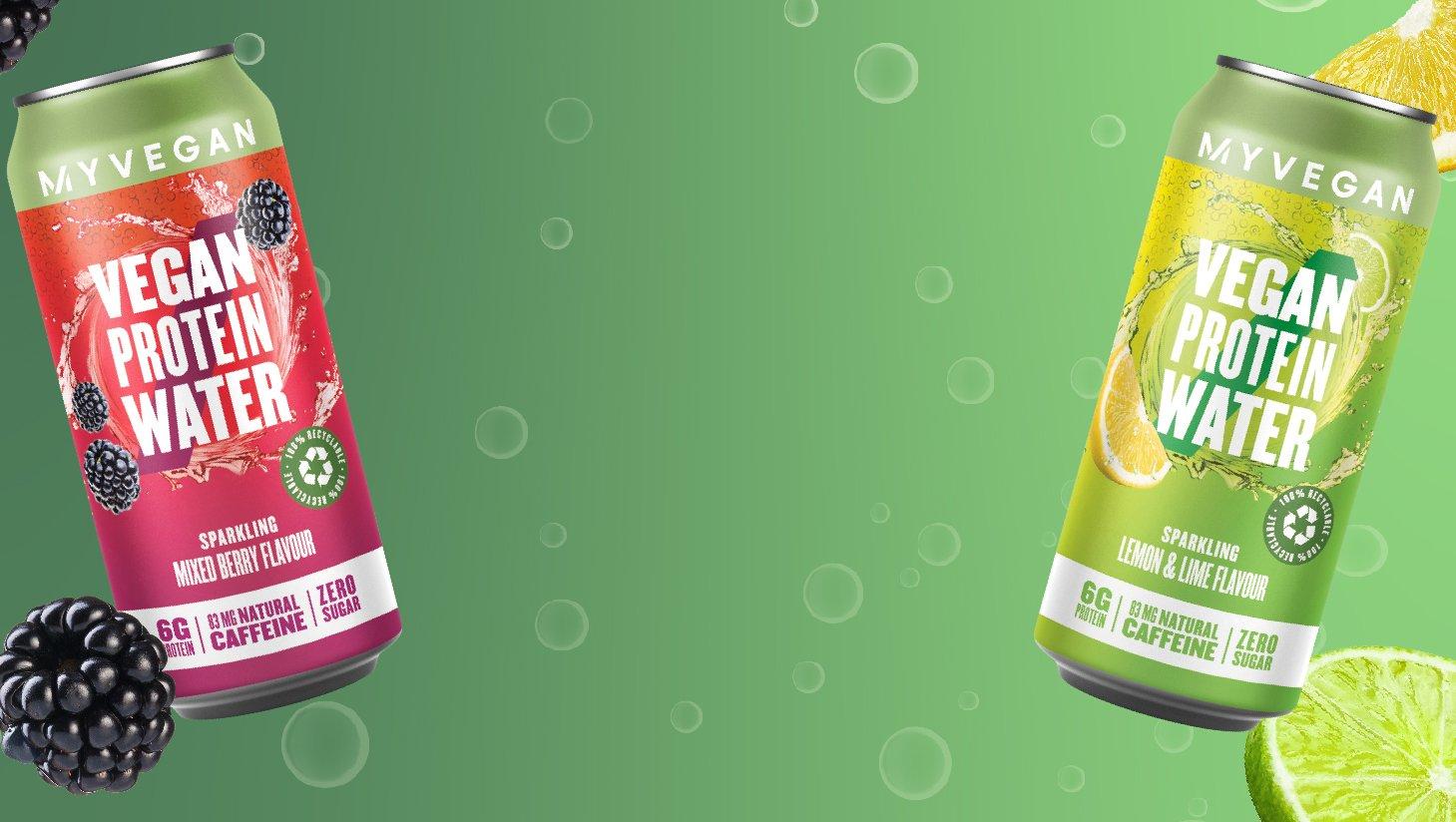 Sparkling Vegan Protein Water | Myvegan