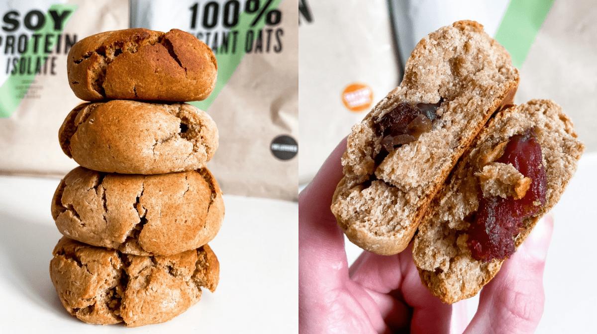 Stuffed Date Cookies   Easy Vegan Recipe