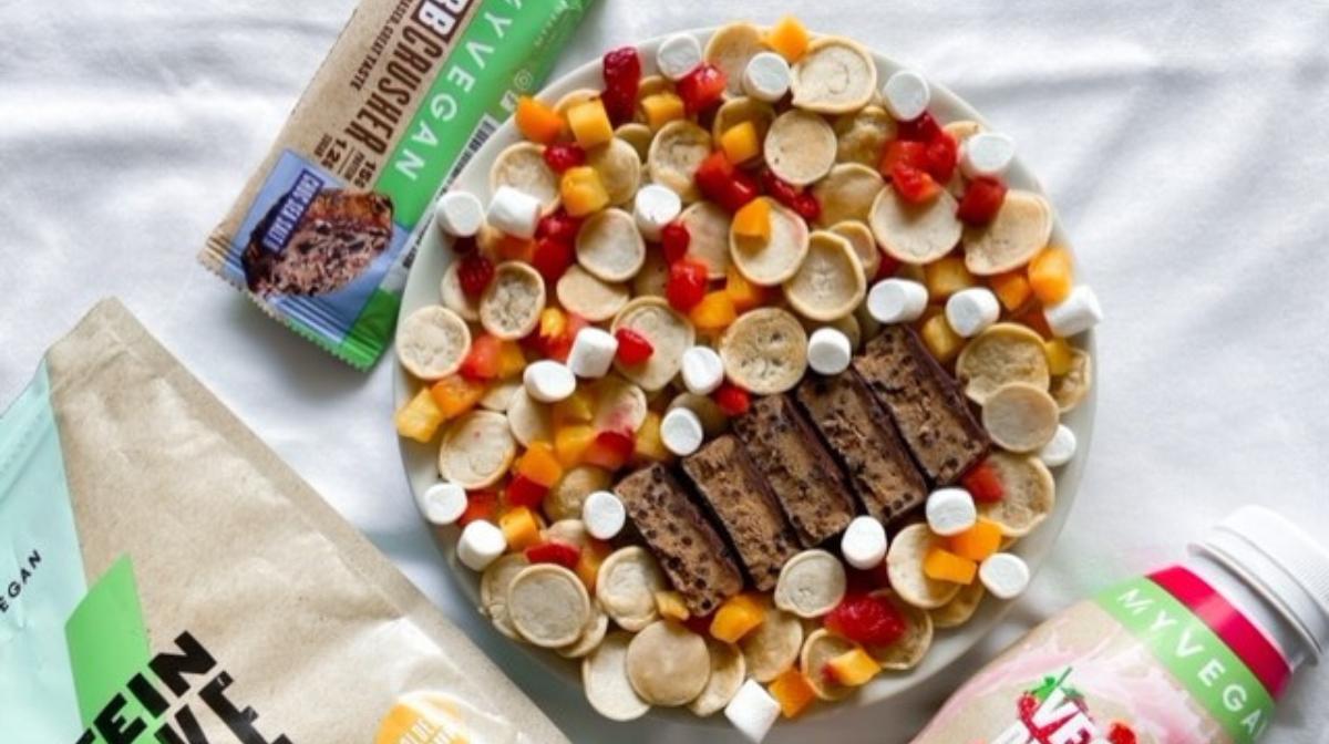 Mini Pancake Cereal | High-Protein Recipe