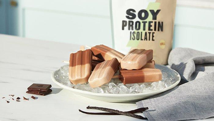 Protein Ice Lollies | Myvegan