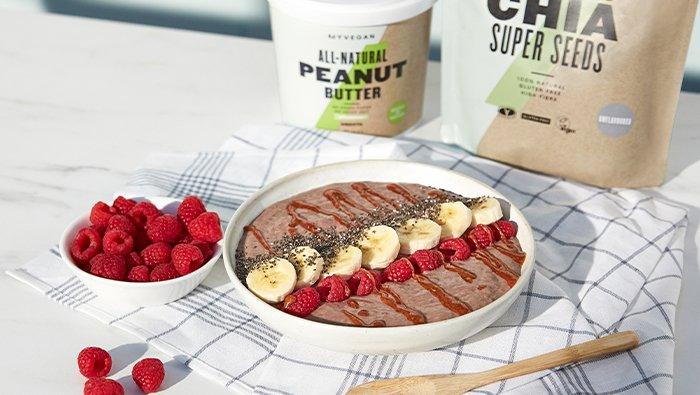 Peanut Butter & Jelly Smoothie | MYVEGAN™