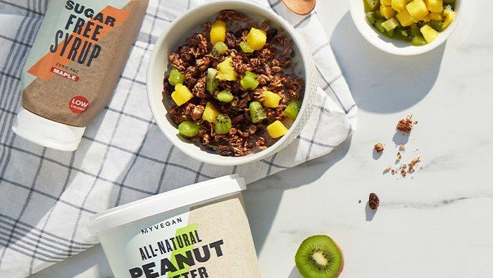 Peanut Butter Granola Recipe   Myvegan