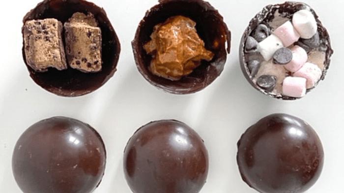 How to Make Vegan Hot Chocolate Bombs