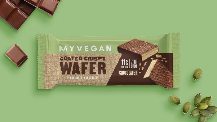 Vegan Coated Crispy Wafer | Myvegan
