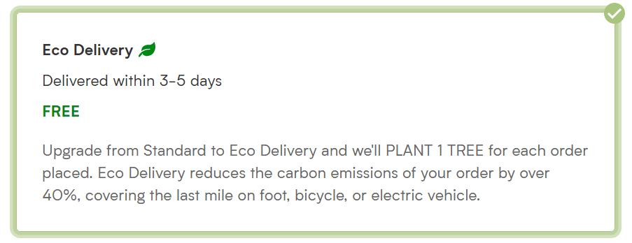 Eco-Delivery | Myvegan