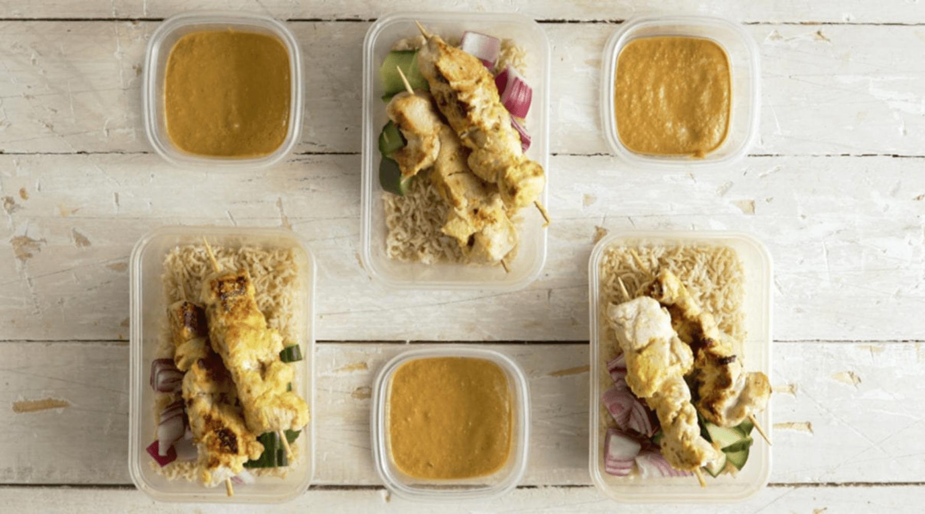 3-Day Chicken Meal Prep Recipe | Malaysian Chicken Satay