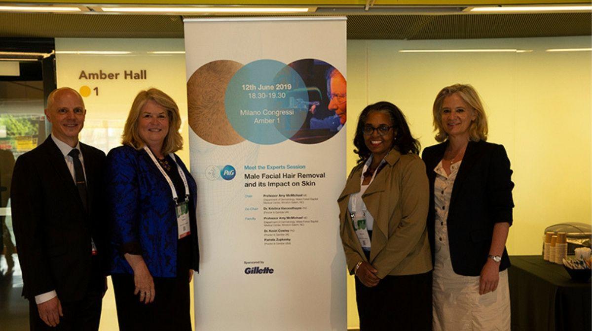 Gillette beim Weltkongress der Dermatologie: Beitrag zur Revolution der Dermatologie