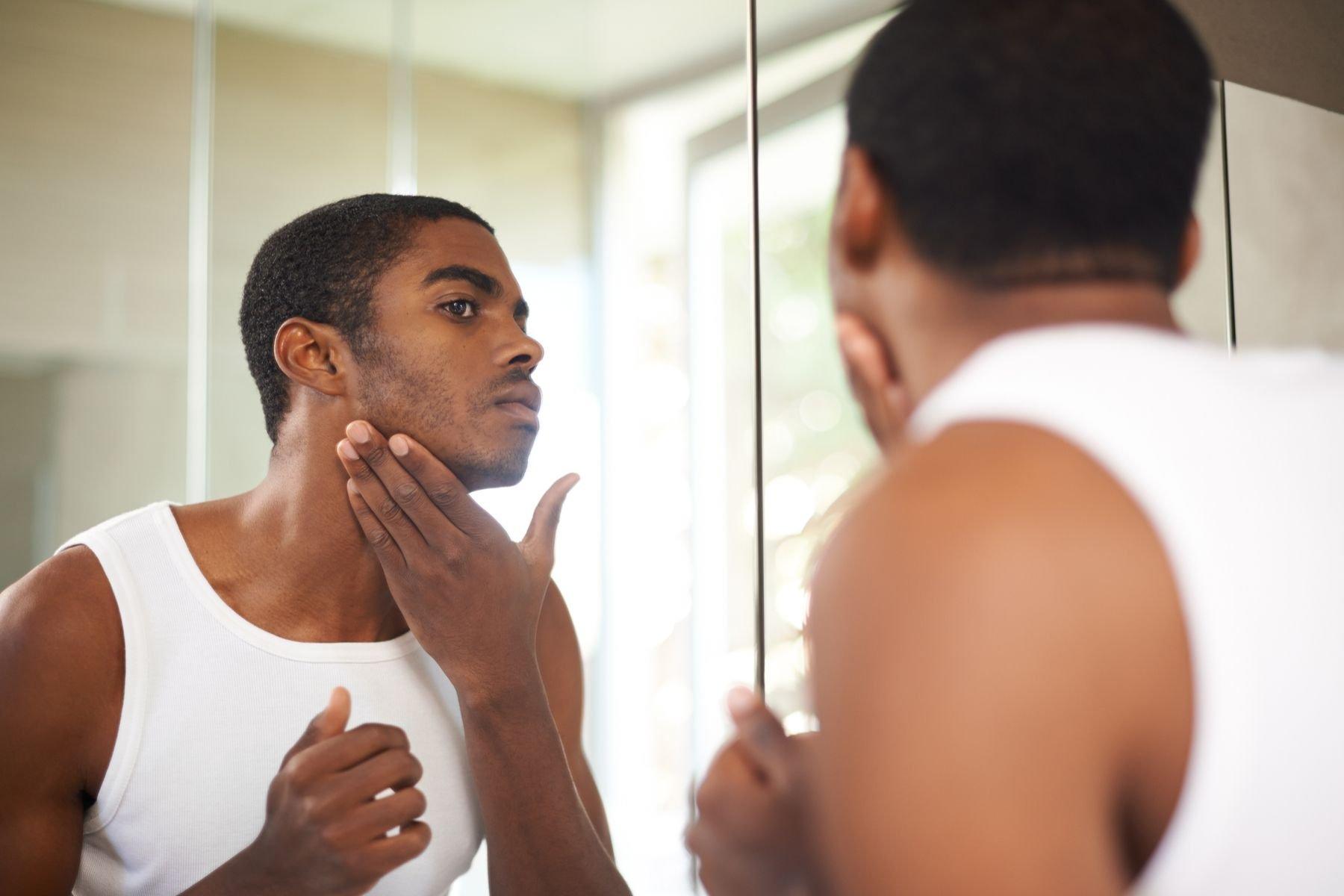 Was Männer über trockene Haut wissen müssen