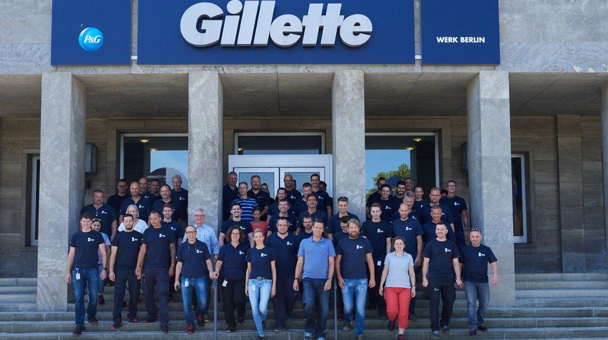 Gillette Werk Berlin