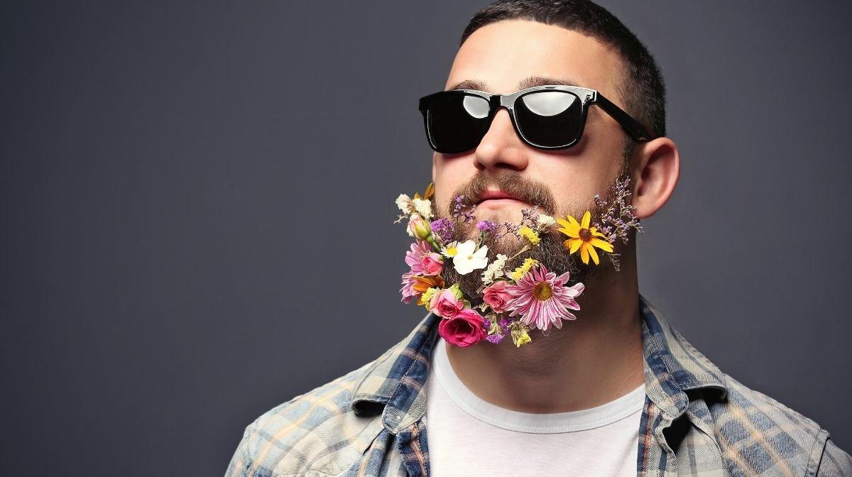 Flower Beard: Bärte für Männer mit blühender Fantasie