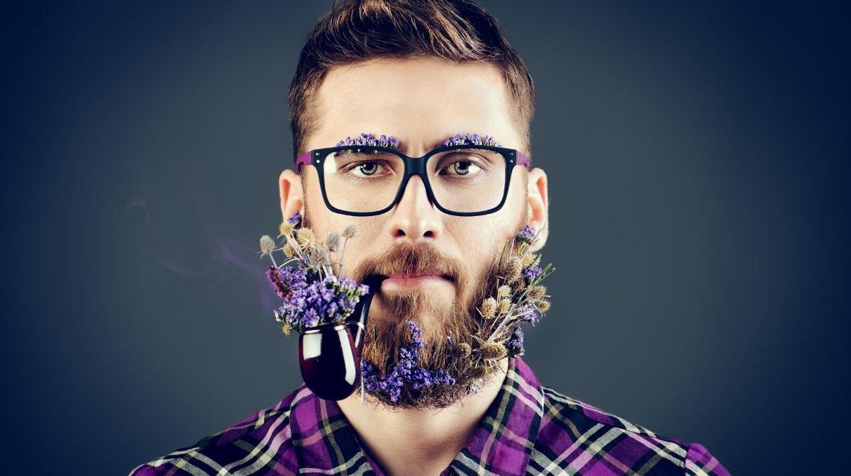 """Der Trend der """"Flower-Beards"""" ist absolut instagrammable! Gillette zeigt Euch, wie es geht"""