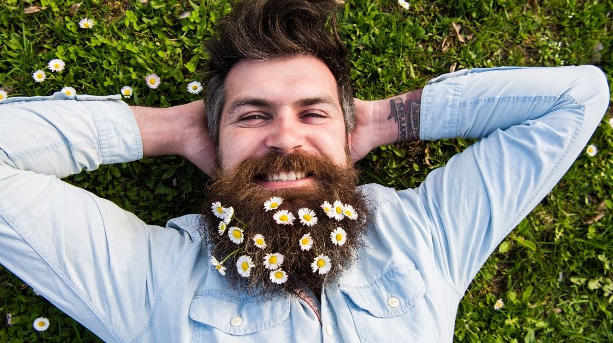 Tutoriel: Wie kreiert man einen Flower Beard