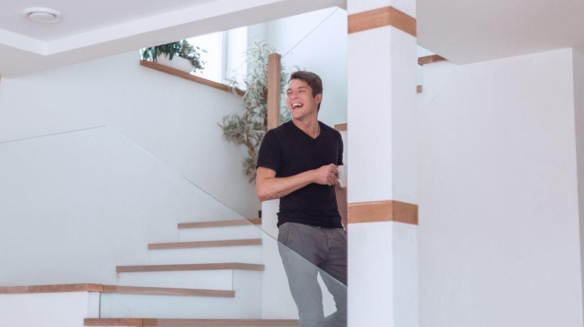 : Man Cave für Puristen: Stilvoll, minimalistisch