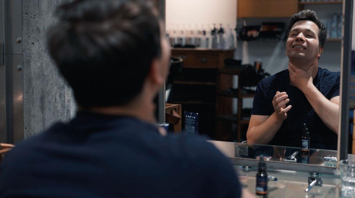 Video Tutorial: Rasieren sensibler Haut mit King C. Gillette Produkten