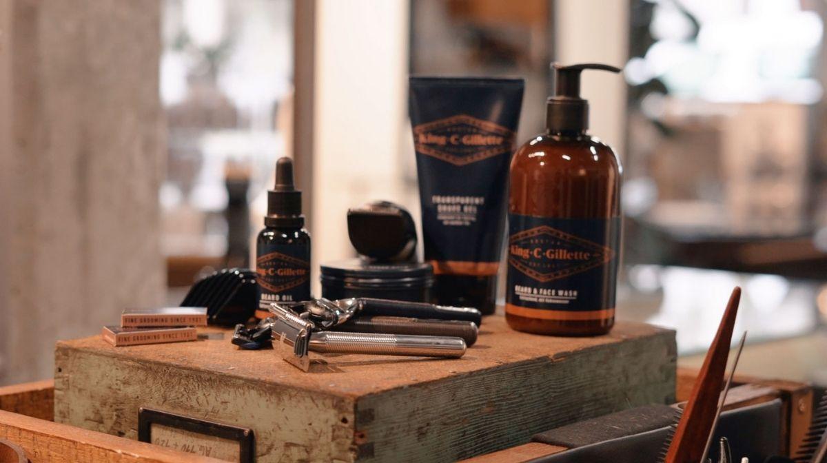 Rasieren sensibler Haut mit King C. Gillette Produkten