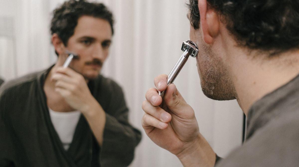 Nun kannst Du rasieren