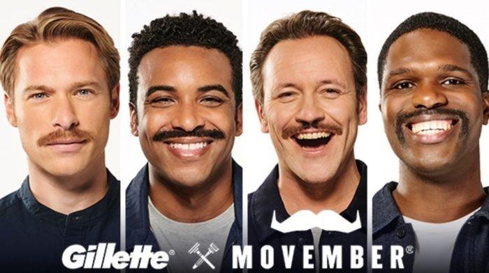 Gillette ist neuer Partner der Movember‐Stiftung