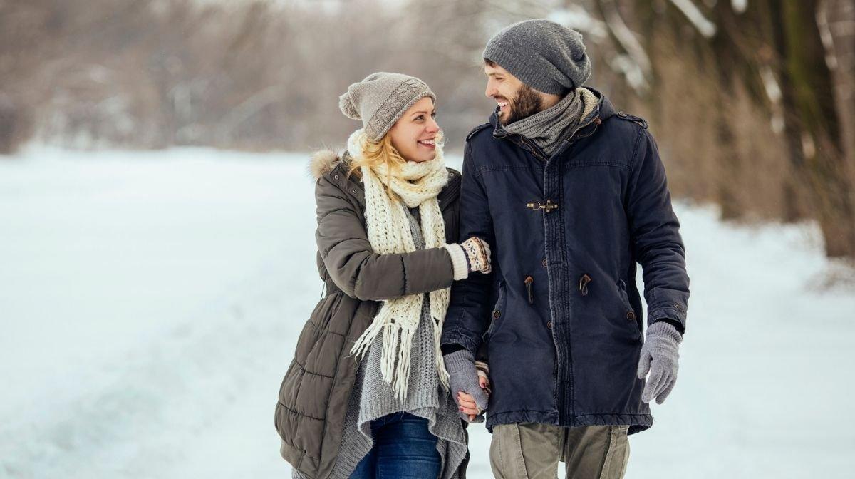 Romantischer Spaziergang durch die Heimat