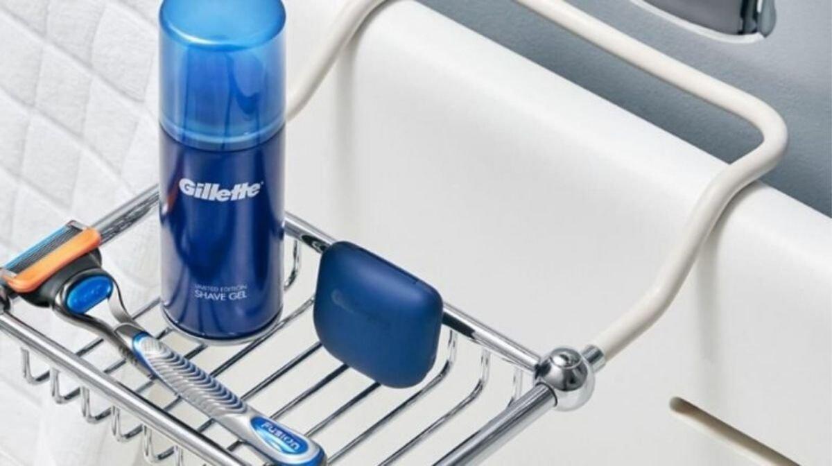 Gillette Rasierer und Rasiergel für die erste Rasur