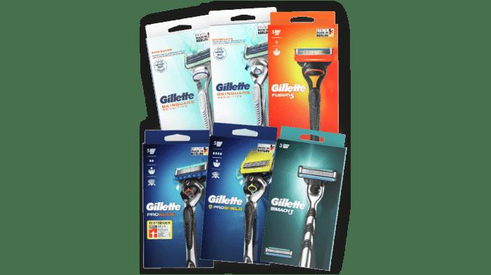 Mit verbessertem Produktportfolio und plastikfreien Packungen zeigt Gillette sein bestes Gesicht