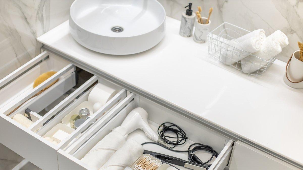 Alles an seinem Platz: 7 Tipps für mehr Ordnung im Badezimmer