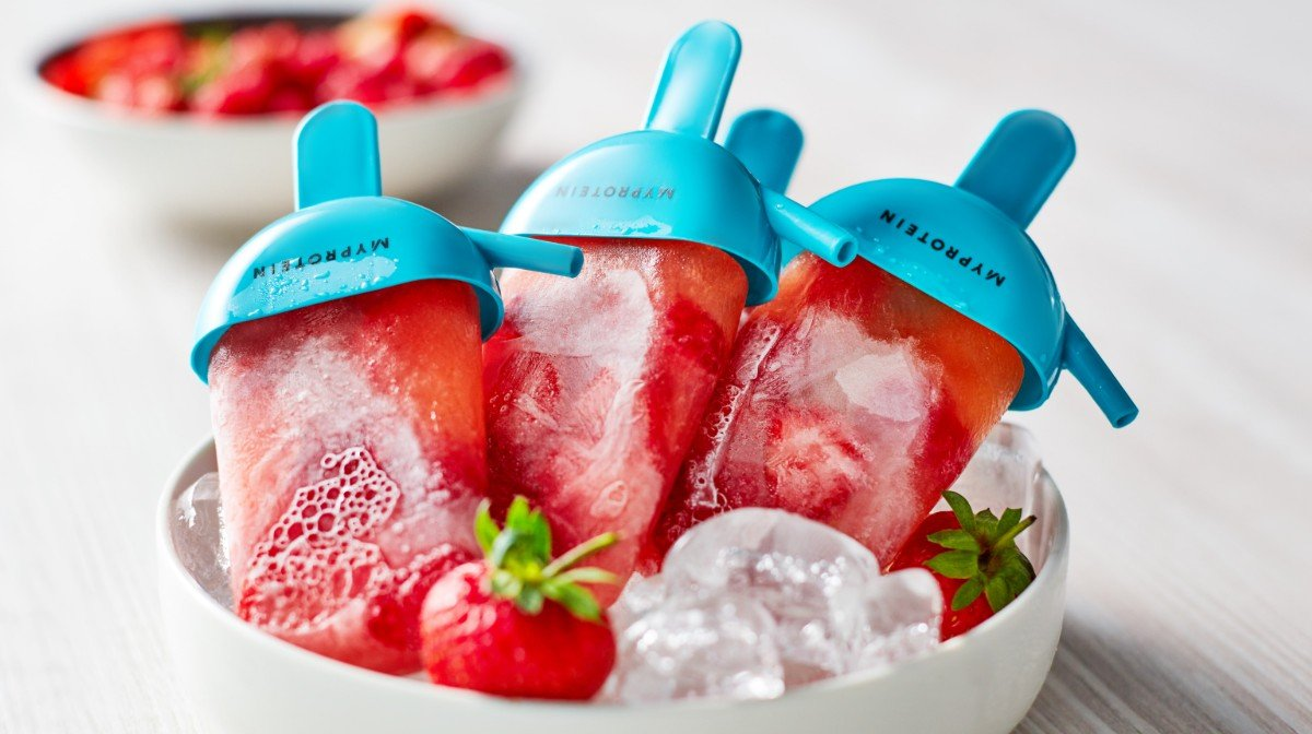 Clear Whey Popsicles | Zo Koel Je Af Na Je Training
