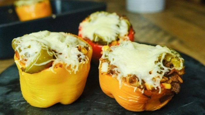 Mexican Stuffed Peppers | Easy Meal Prep Ideeën
