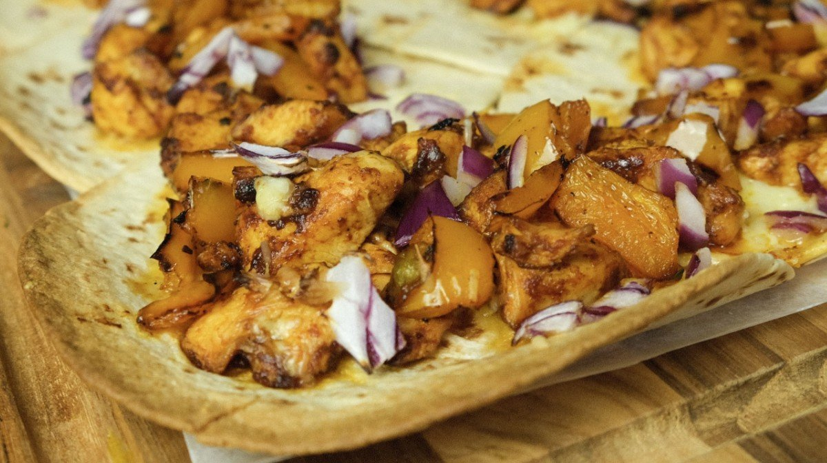 Easy BBQ Kip Tacos