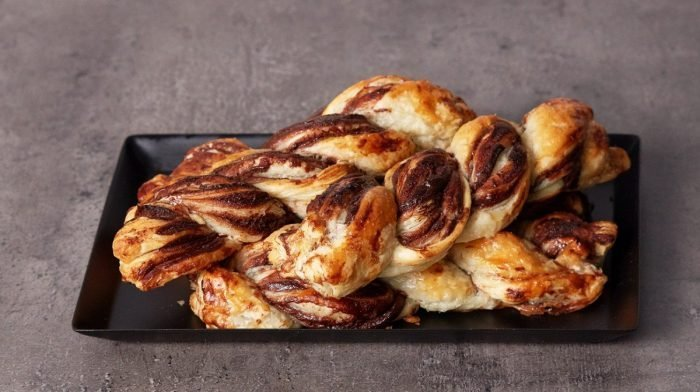 Protein Spread Chocolade Twists