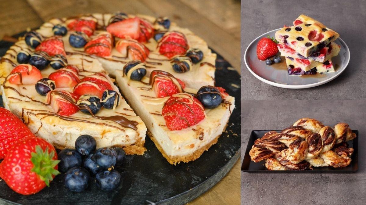 Valentijnsdag ontbijtes en toetjes | Gezonde recepten voor je date