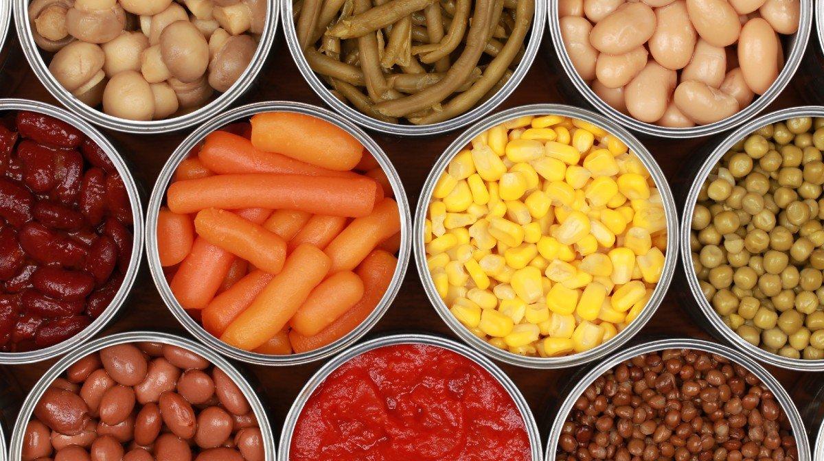 10 voedingsmiddelen met veel voedingstoffen in blik om in te slaan